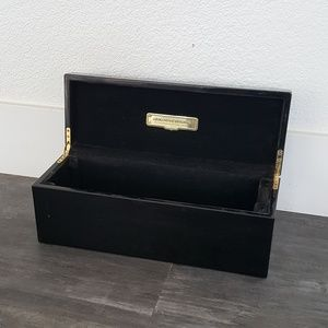 Black Ace Of Spades Champagne Decor Box